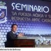 Consejero Nacional, Alfredo Guzmán participó en Seminario de la Fuerza Aérea.