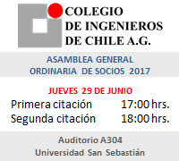 Asamblea General Ordinaria de Socios 2017
