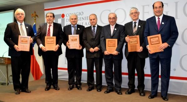 Ceremonia Miembros Vitalicios 2015