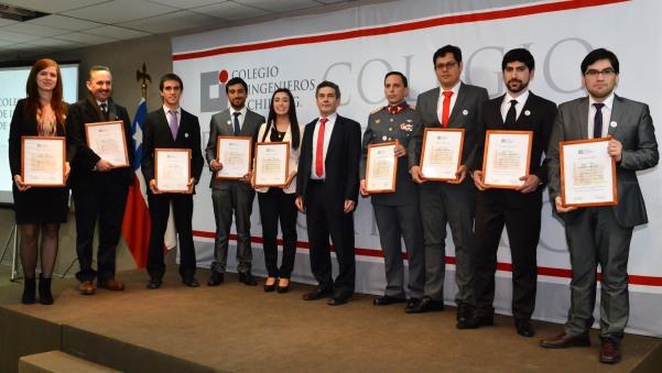 Premiación Mejores Titulados Promoción 2014