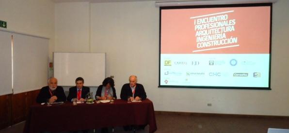 Primer Encuentro de Profesionales de la Arquitectura, la Ingeniería y la Construcción