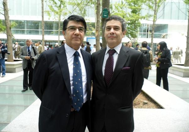 Ceremonia de inauguración del nuevo edificio de la FCFM de la Universidad de Chile.