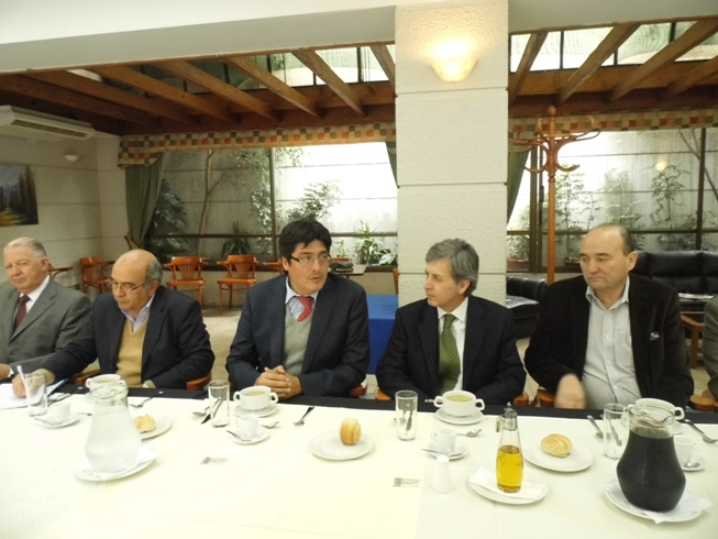 Reunión de Comisión Telecomunicaciones con Subsecretario