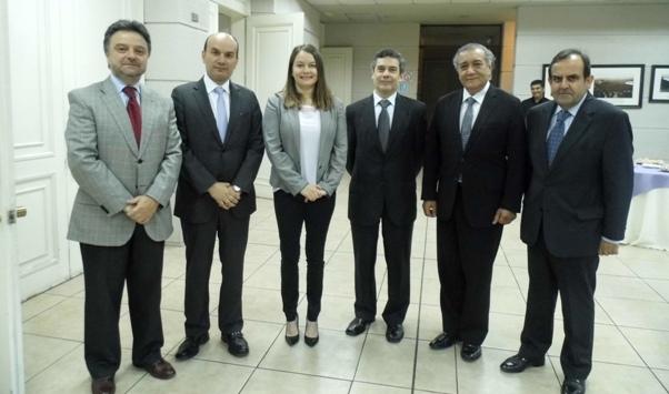Presidente Nacional realizó discurso de bienvenida de informe de Cochilco.
