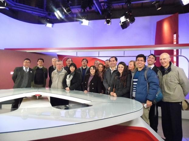 Ingenieros Visitan Televisión Nacional de Chile