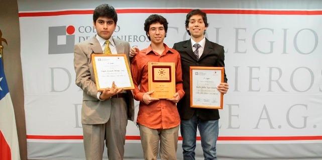 Premio Talento Matemático Joven 2013