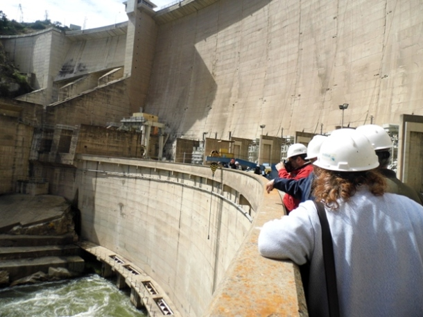 Visita Técnica Central Hidroeléctrica Rapel