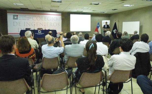 "Charla ""Red Nacional de Monitoreo Sísmico"""