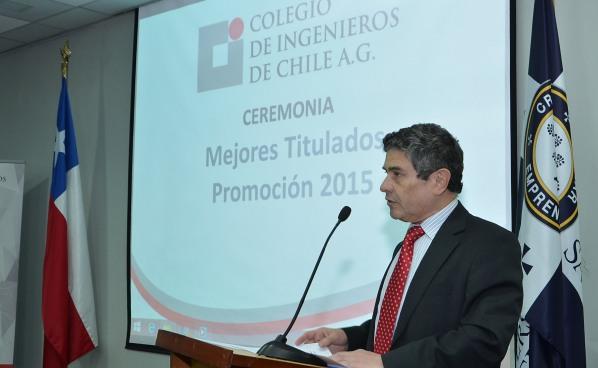 Ceremonia Mejores Titulados promoción 2015