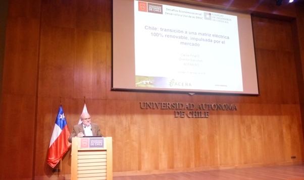 """Seminario """"Desafíos Económicos en el Desarrollo y Uso de las ERNC"""""""