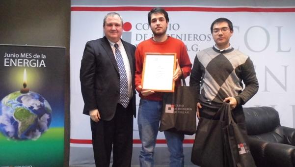"""3º Lugar Concurso """"Ingenieros Innovando con Energía"""""""