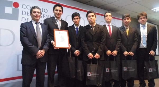 """2º Lugar Concurso """"Ingenieros Innovando con Energía"""""""