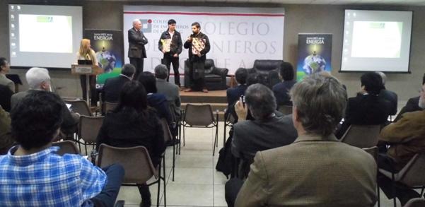 """1º Lugar Concurso """"Ingenieros Innovando con Energía"""""""