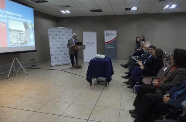 Reconocimiento 50 años de la Dirección de Aeropuertos del MOP