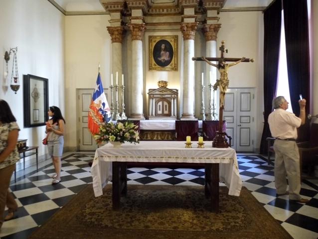 Capilla Palacio de la Moneda