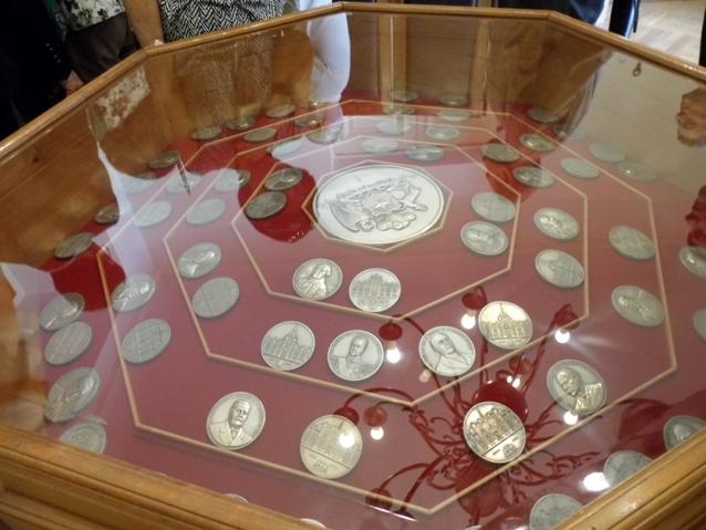 Sala de las Medallas de los Presidentes de Chile