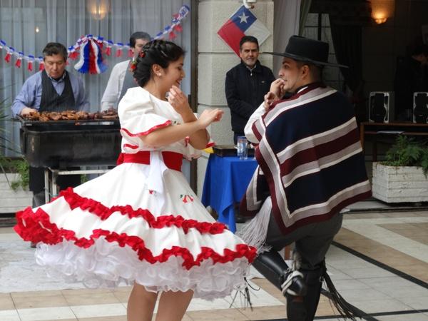 Celebración de Fiestas Patrias 2014
